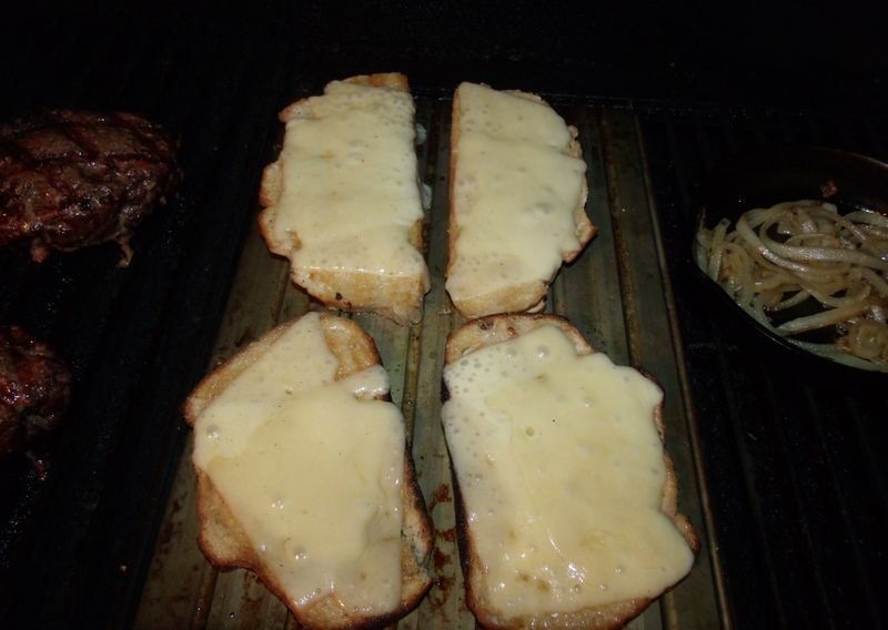 Toast Bread and Melt the Cheese on Grill Grates Griddle