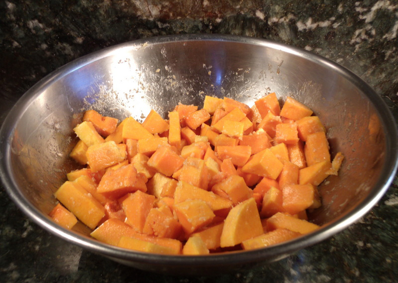 Blend Squash and Remaining Ingredients