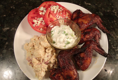 Cherry Chipotle Buffalo Wings