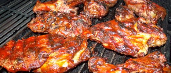 Barbequed Turkey