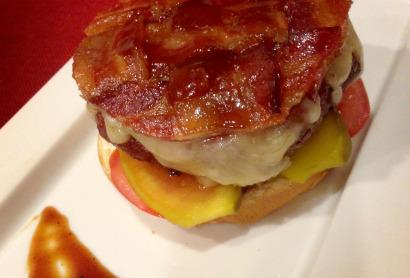 Recipe- Pig Candy Burger