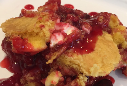 Berry Cheesecake Cobbler