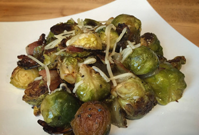Cast Iron Brussels Sprouts